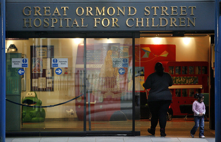 Здание лондонской детской больницы Great Ormond Street Hospital