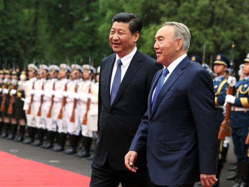 Назарбаев, Си Цзиньпин