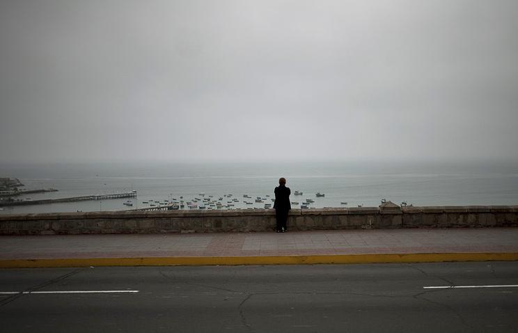 Тихий океан у побережья Перу