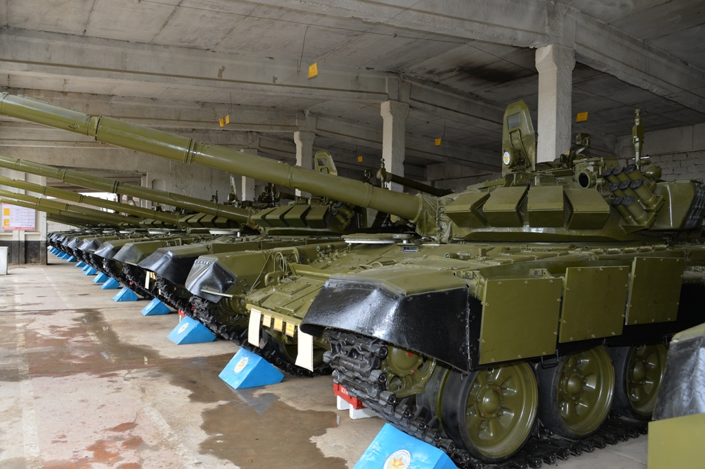 Министерства обороны танки