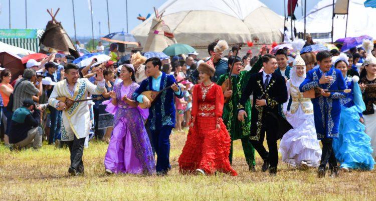 Казахская молодежь