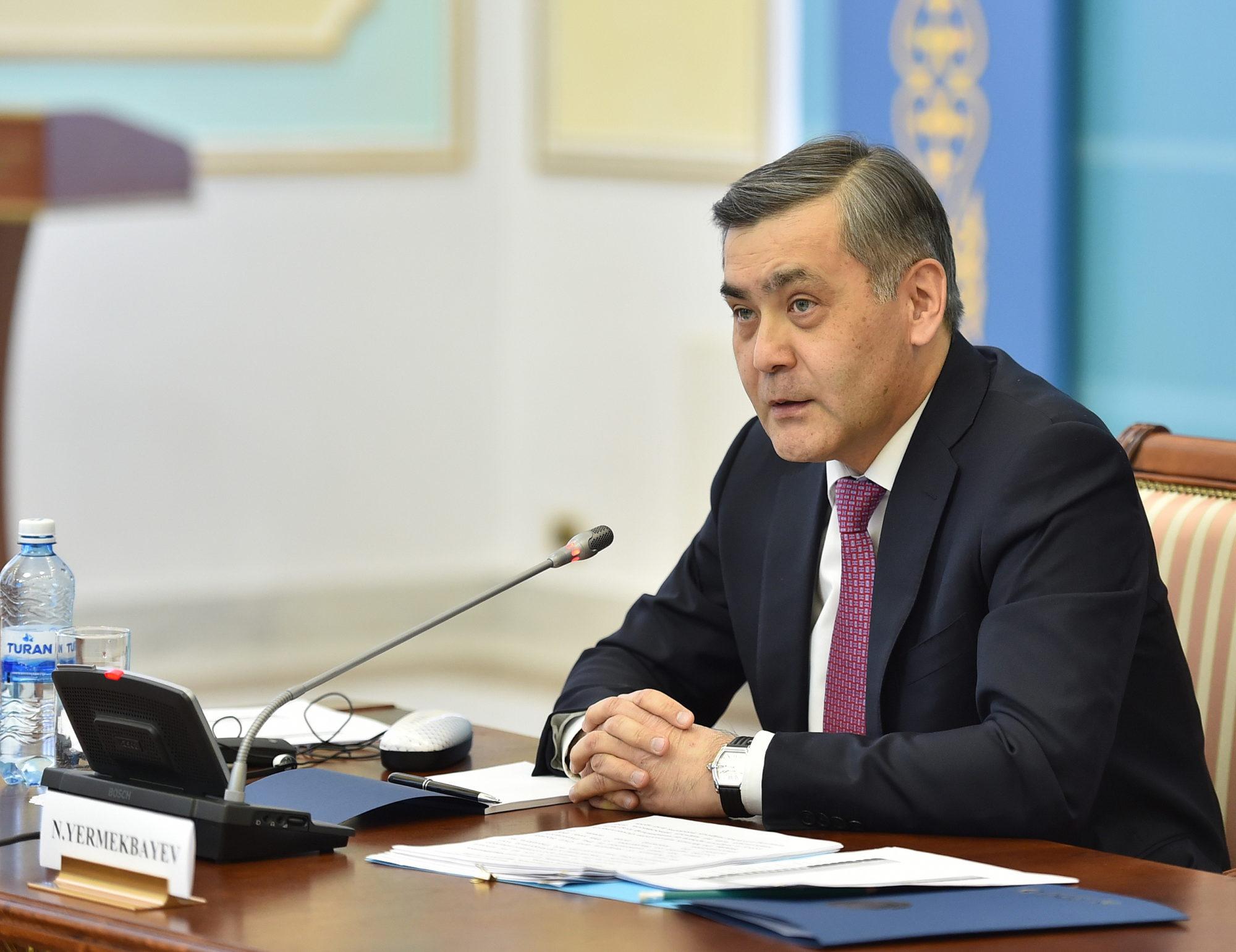 Нурлан Ермекбаев, министр по делам религий и гражданского общества РК