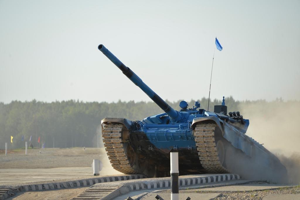 Биатлон танка