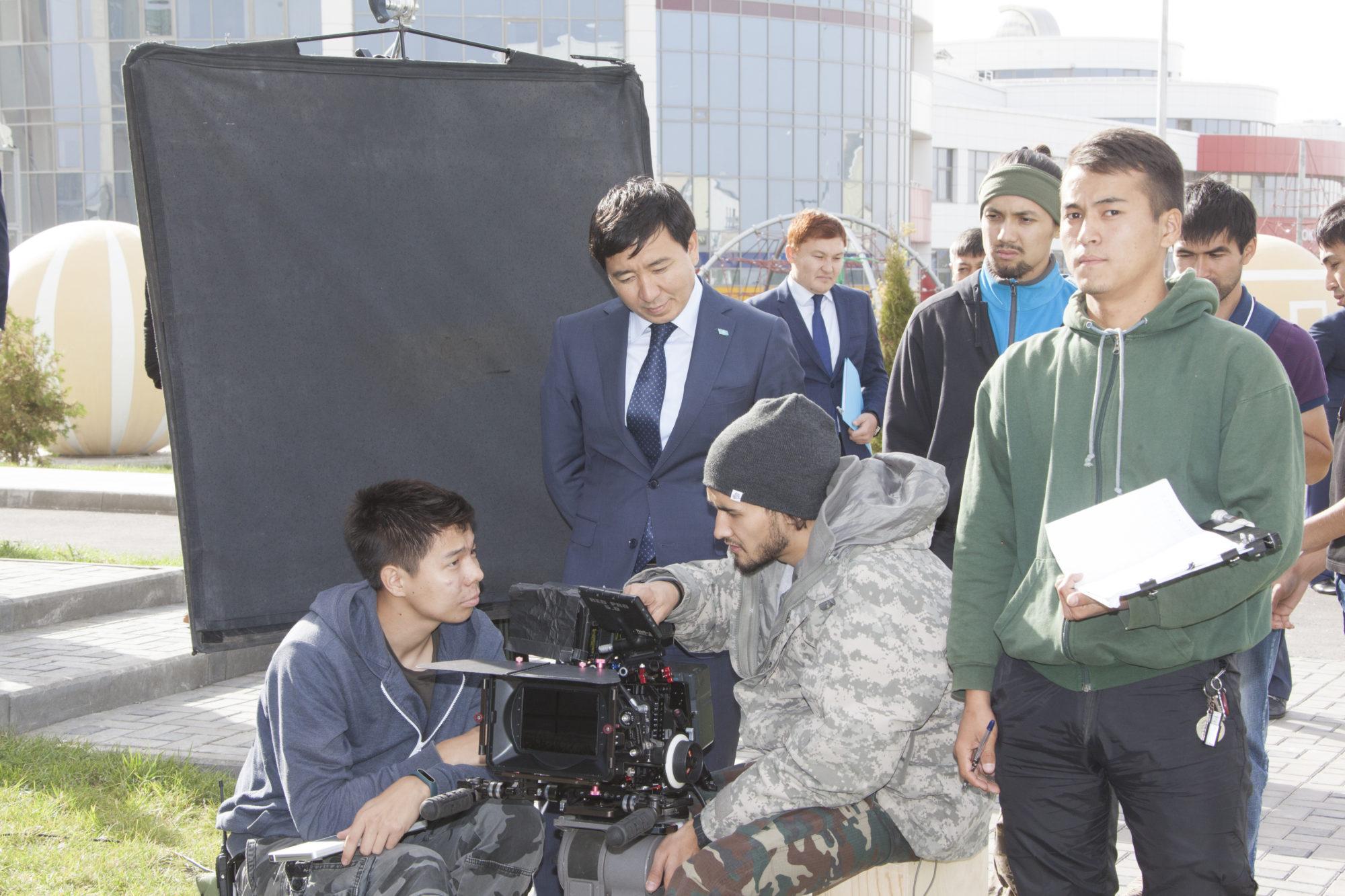 Алматинская область, Welcome to Zhetysu, съемки фильма