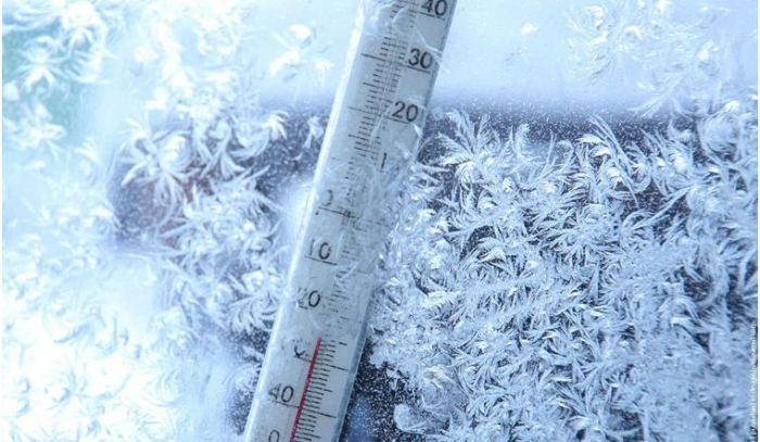 Морозы в Астане