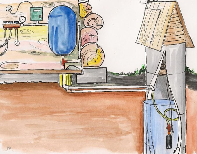 Строительство водоснабжения