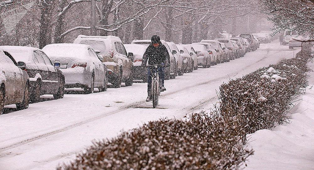 Прогноз погоды, снег