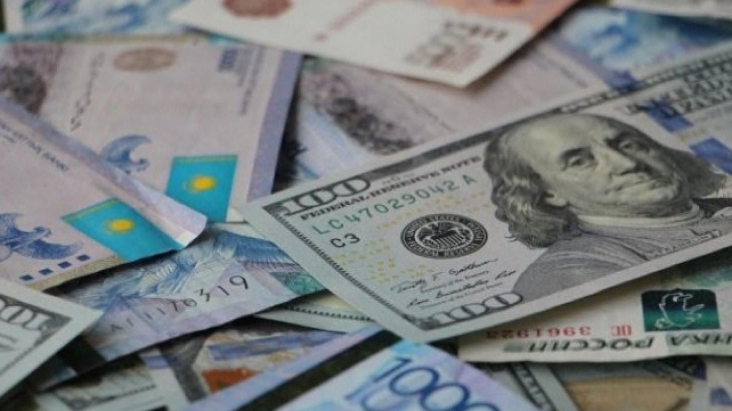 Деньги, доллар, тенге