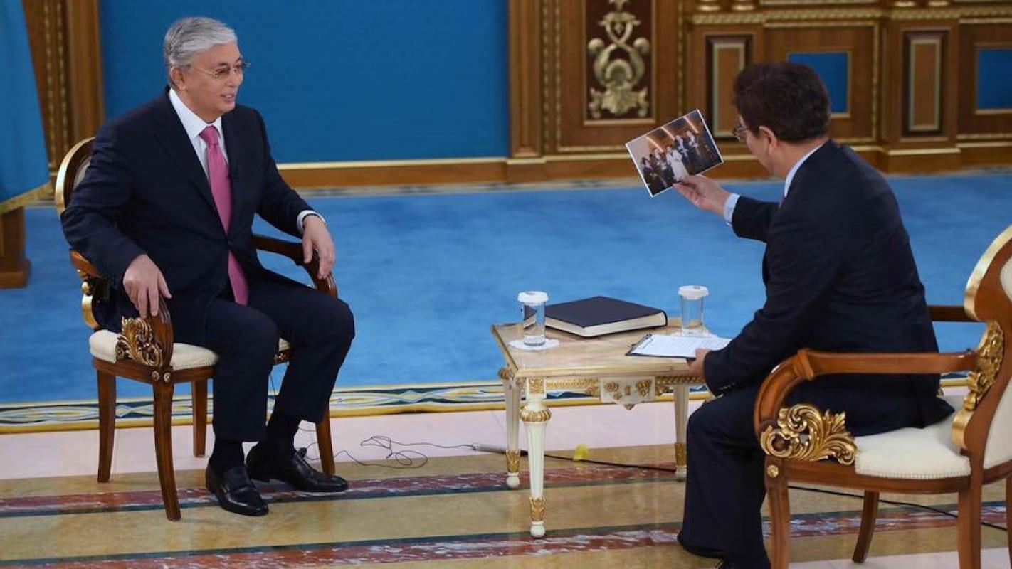 Касым-Жомарт Токаев дал интервью китайскому телеканалу