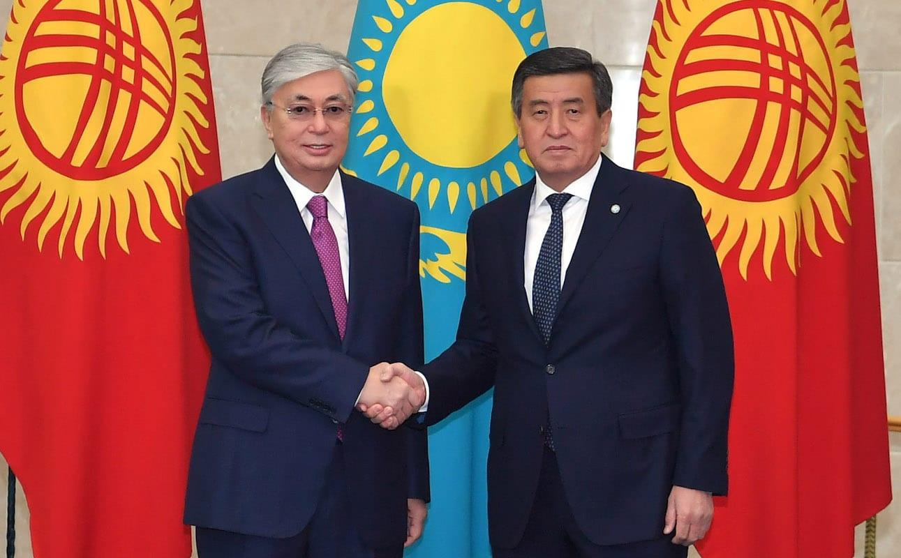 Касым-Жомарт Токаев и Сооронбай Жээнбеков