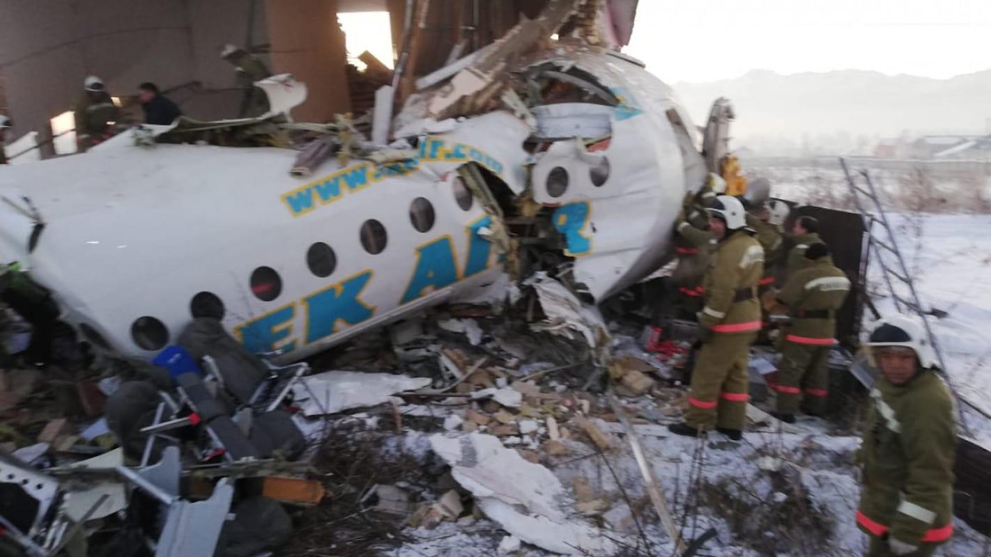 Крушение самолета Bek Air