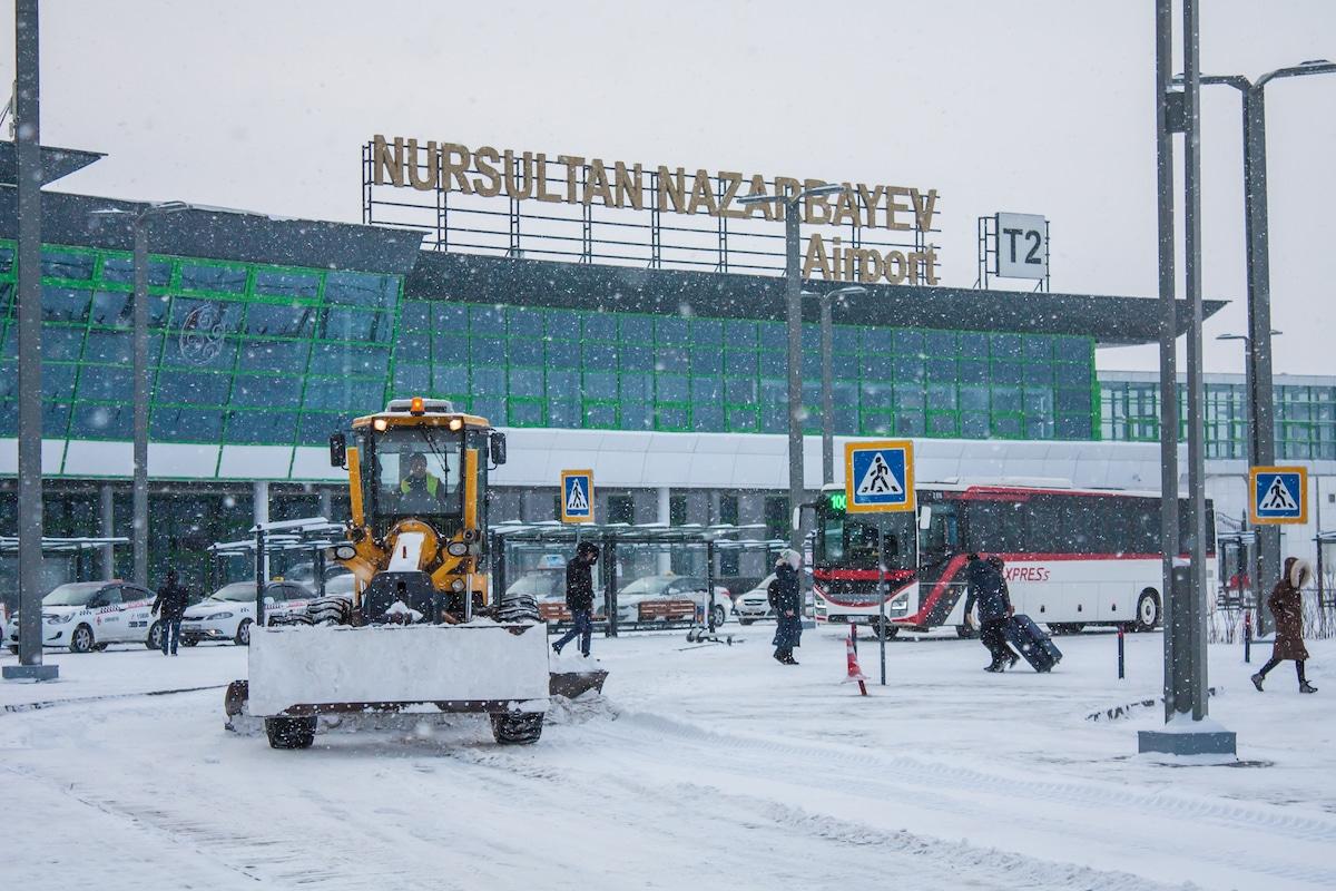 Аэропорт Нур-Cултана