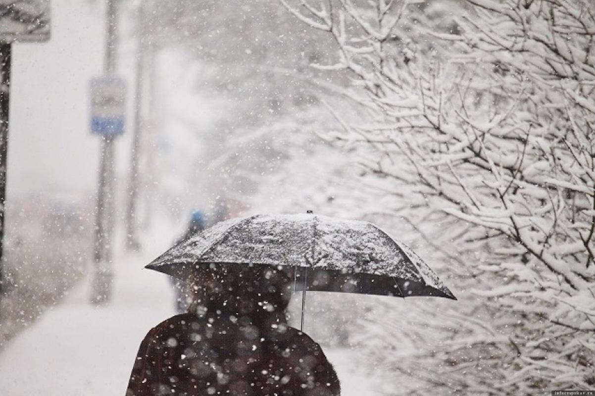 Снег, осадки, зима