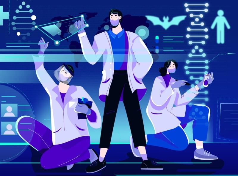 Медицина, лаборатория