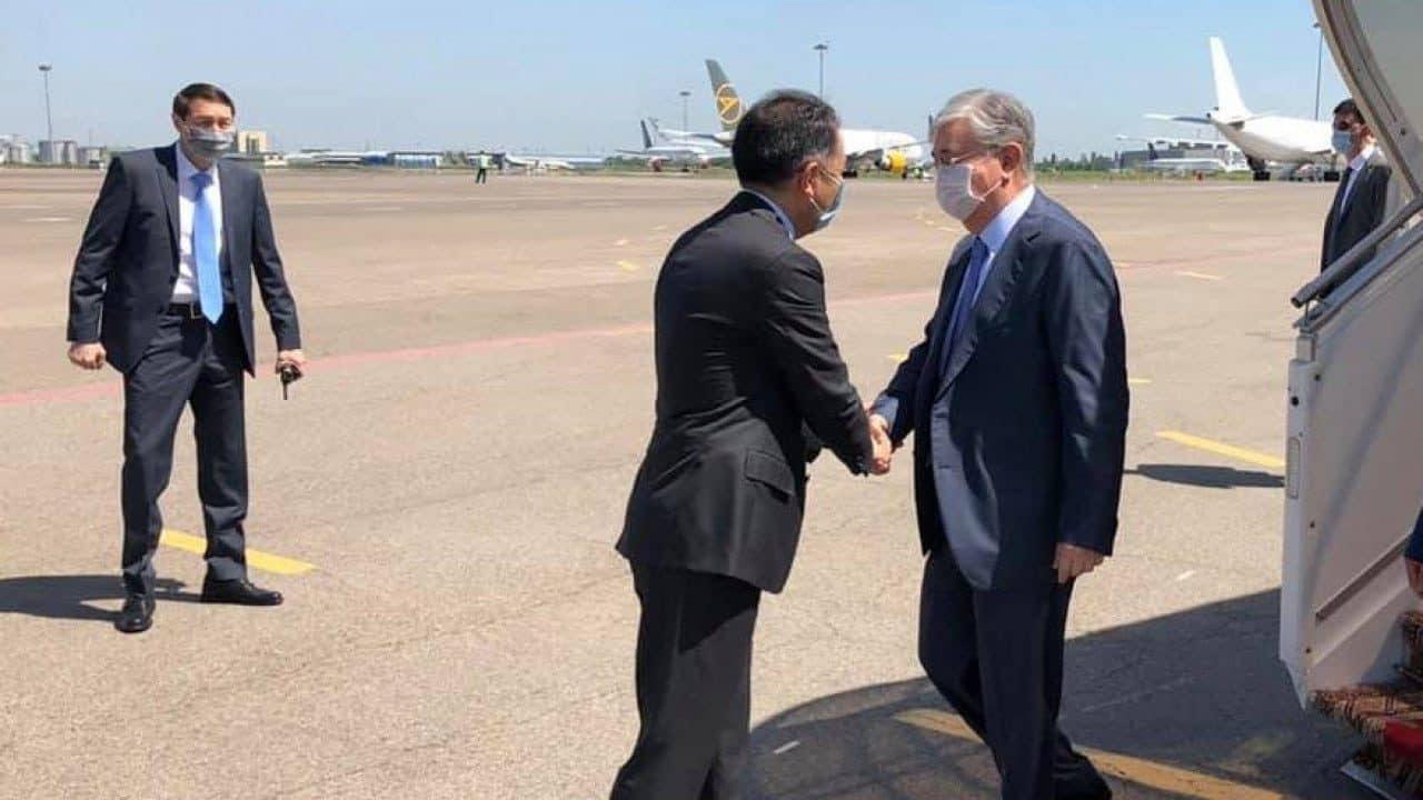 Президент прибыл в Алматы