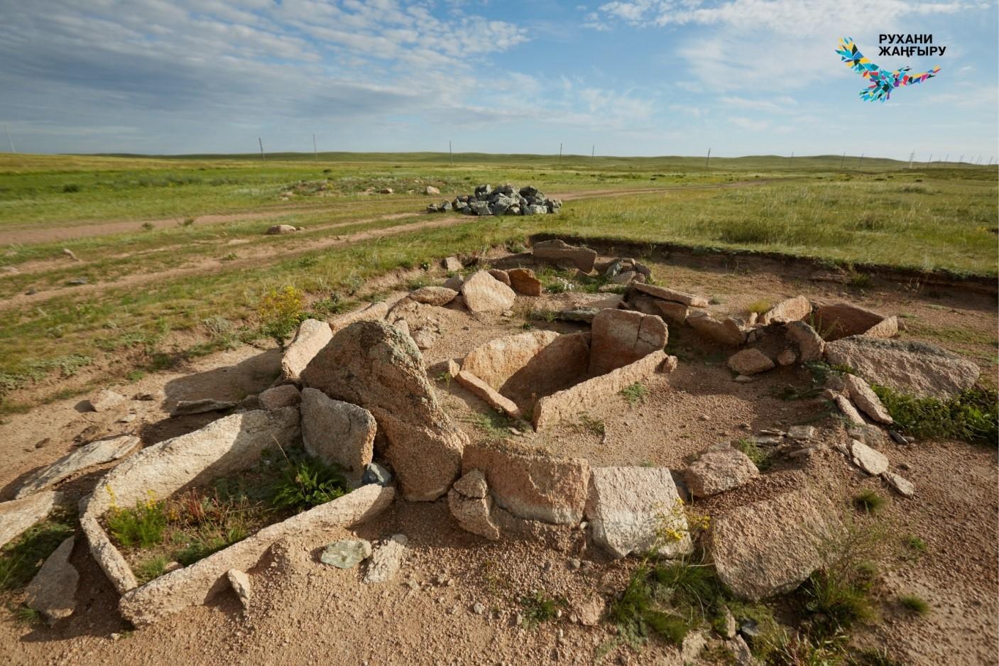 Каменные гробницы Кемпиртас