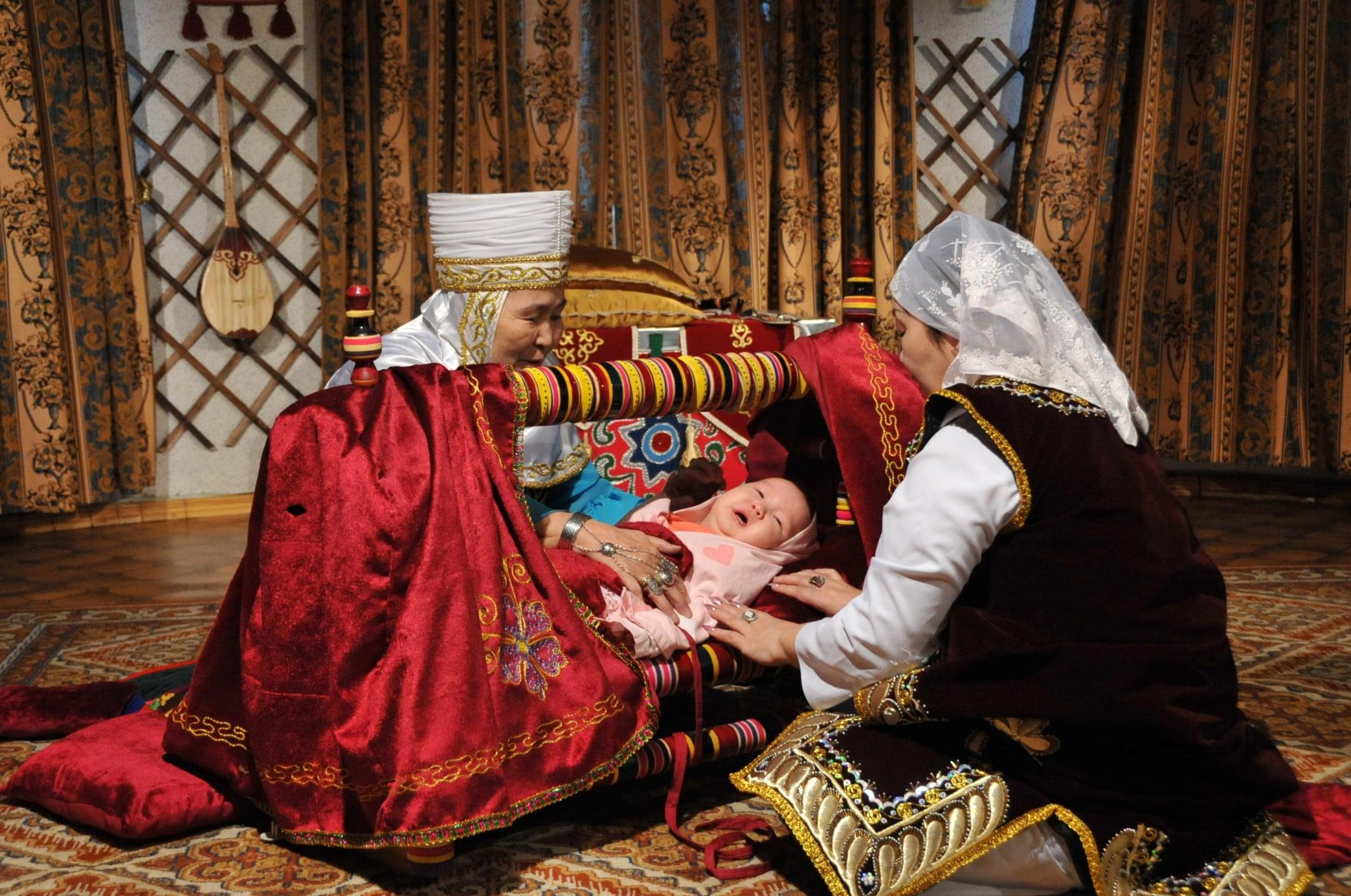 Колыбель казахская