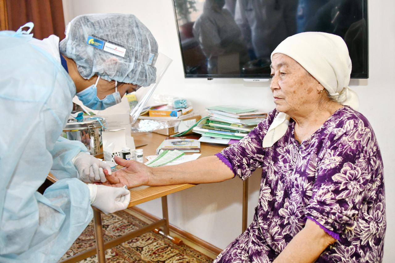 медосмотр пожилых людей