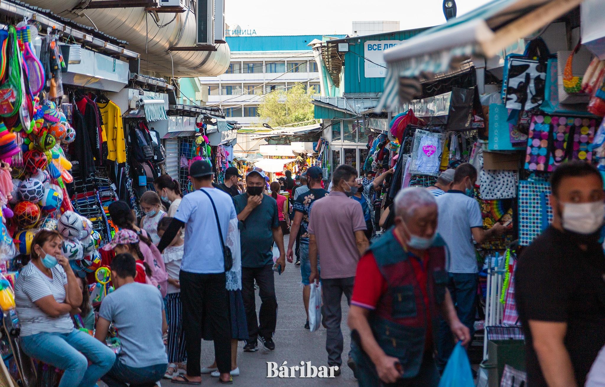 населения, рынок, базар, люди